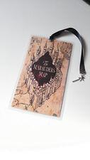 Marque Page Harry Potter Bookmark marauder's map wand baguette magique Geek
