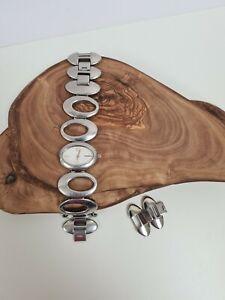 Fossil Ladies Watch ES2059 Silver Tone