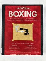 Boxing (Atari 2600, 1980) By Activision (Cartridge Only