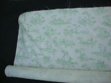 Robert Allen Home Nursery Rhymes Characters 6 Yds Fabric Upholstery Green Toile