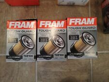FRAM LOT OF 3 Oil Filters-Tough Guard TG9100 New In Box