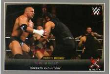 2015 Topps WWE Road to Wrestlemania Silver #13 The Shield Triple H