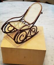 Vita Miniature Chair #  9 Rocking Chair NEW IN BOX