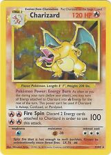 CCG 321 Pokemon Charizard (Glurak) aus base Edition Foil 4/102