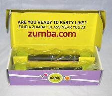 Zumba Toning Sticks 1 LB Light Weights Set of 2 New In Box