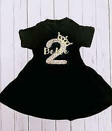 Personalised Birthday Dress (baby, gift, toddler, 1st, unique, special, girls)