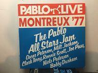 RONNIE SCOTT - Pablo All-Stars Jam ~ PABLO 210 {nm orig} Recorded: July 14, 1977