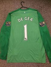 MANCHESTER UNITED 2013/14 GOALKEEPER SHIRT ADULTS(S) 1 DE GEA
