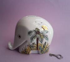 Drumbo Colani Höchst Spardose mit Schlüssel Elefant