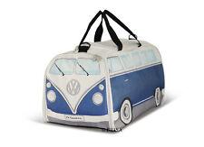 Sport Travel Bag T1 Camper Van Bus Blue Volkswagen VW Collection by BRISA BUST02