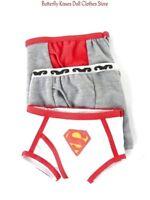 3 Pack Boys Underwear 18 in Doll Clothes Fits American Girl Boy Dolls