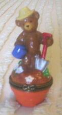 Phb Midwest Porcelain Hinged Box – Bear - May Gardener