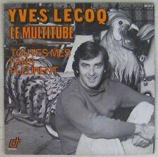 Yves Lecoq 45 tours Le multitube 1974