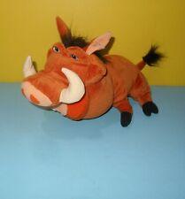 2003 Hasbro Disney Lion King Pumba Pumbaa Warthog Stuffed Plush w/ Simba Rump