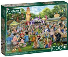 Jumbo Falcon de Luxe - Sausage and Cider Festival 1000 Piece Jigsaw Puzzle