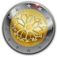 2 Euro 2020 Zypern 30 Jahre Institut für Neurologie und Genetik