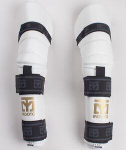 MOOTO arm & elbow guard gear/Protector, Martial arts arm & elbow, S2 white