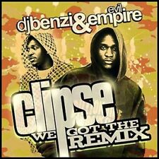 THE CLIPSE (WE GOT THE REMIX - SEALED CD + FREE POST)