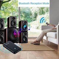 Nuevo 2 en 1 Bluetooth V4.2 Receptor transmisor de audio Adaptador de music T6O2