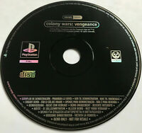 Colony Wars Vengeance / Rare Full Game Promo Version / PS1 Playstation 1 PS2