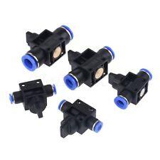 5PCS 10 MM Ajuste Empuje de un toque y Unión Conector Para Tubo De Manguera de Aire de Neumático