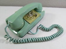 Vintage Automatic Electric GTE AE Rotary Dial Starlite Phone Seafoam Green