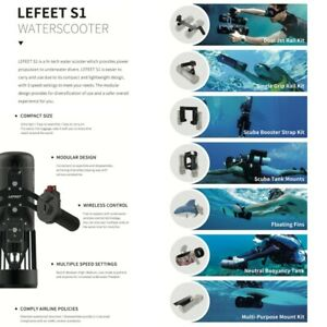 Lefeet S1 Electric Underwater Compact Sea Scooter Accessories / Add-on