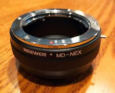 Neewer Minolta MD to Sony E (NEX) adapter
