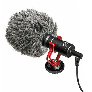 BOYA BY-MM1 3.5mm Microphone Condensor Video Mic For iPhone Samsung Mobile Phone