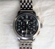 Glashütte Original Senator Navigator XL Chronograph Fliegeruhr Piloten-Uhr 44mm