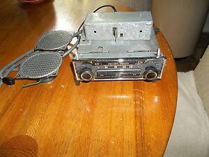 107 450 SL SLC MERCEDES FERRARI Becker Stereo MEXICO cassette w/amp 2 speakers