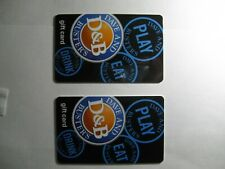 Two $50 Dave & Buster's Gift Cards Total Value $100