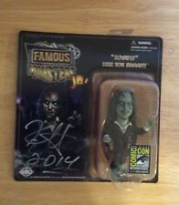 SIGNED SDCC 2014 Zombie Kirk Von Hammett Famous Monsters Jr Green Metallica +PIC