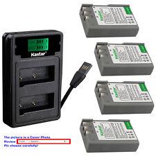 Kastar Battery LZD2 USB Charger for EN-EL9a MH-23 & Nikon D60 SLR Digital Camera