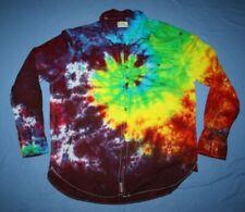 Tie Dye Dress Shirt XL JACHS brand swirl multi-color