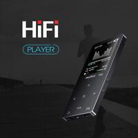 8GB Bluetooth HiFi Metal MP3 Music Player Loseless FM TF Recording APE FLAC WAV
