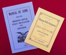 Sharps Rifle Company ~ 2 reproduction catalogs ~ Ammunition ~ Manual Of Arms