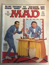 MAD Magazine #273 (Sept 1987) Pee Wee Herman Alfred E. Neuman