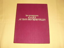Alice au Pays des Merveilles Lewis Carroll illustrations Justin Todd 1984