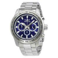 Invicta Speedway Chronograph Blue Dial Men's Watch 21795