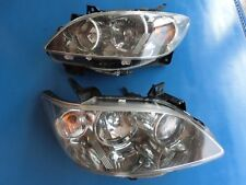 JDM Mazda MPV LW3W 2nd GEN 2004-06 OEM HID Headlight Lamps Lights Clear 1 Pair