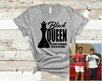 Black Queen T-Shirt Black Women Empowered African Culture