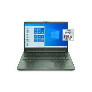 """New/Sealed - HP 14"""" HD Core i5-1035G1 3.6GHz 8GB 256GB SSD Camo Laptop Notebook"""
