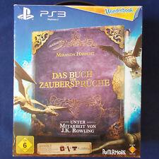 PS3 - Playstation ► Wonderbook: Das Buch der Zaubersprüche inkl. Move-Motion ◄