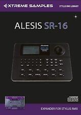 XTREME samples Alesis sr-16 RMX Stylus RMX xpander