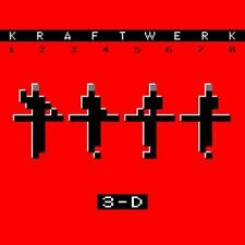 KRAFTWERK 12345678 3-D CD BRAND NEW Live Slipcase
