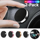 2-Pack Magnetic Universal Car Mount Holder For Cell Phone Samsung Galaxy iPhone