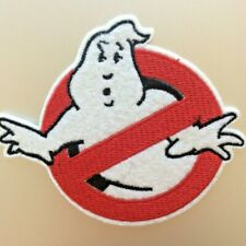 Ghostbusters Patch — Iron On Badge Embroidered Motif — Ghost Buster Movie Film