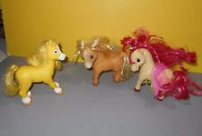 "Strawberry Shortcake 6"" Horse Pony Ponies Figures 2007 TCFC Playmates"