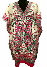 Stylish Short Paisley Kaftan, Tunic, Boho Hippy Cocktail Caftan Top, Free Size